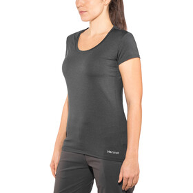Marmot All Around - Camiseta manga corta Mujer - negro